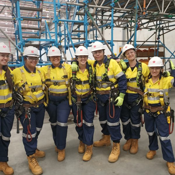 Female Scaffolding Program