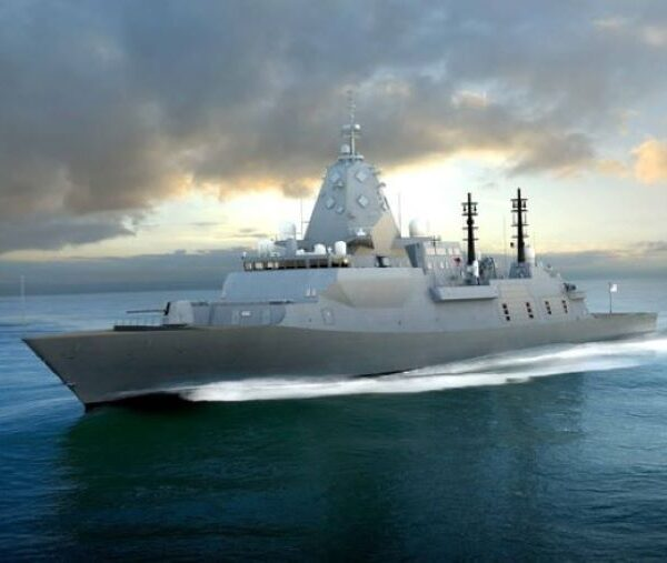 Blast and paint contract awarded for the Hunter Class Frigate Program's prototyping phase.